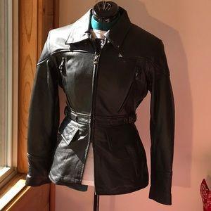 UNIVERSAL RIDER JACKET (liner) Sz. S Black Leather